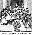Keene High School (old) Graduating Class of 1875, Keene, New Hampshire (4518149323).jpg