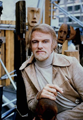Keith Michell - Michell in 1973, by Allan Warren