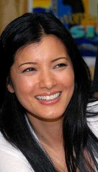 Miss Hawaii USA - Kelly Hu at Camp As Sayliyah in Qatar, 2008.