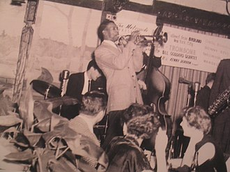 Kenny Dorham - Kenny Dorham at the Metropole Hotel in Toronto, 1954.