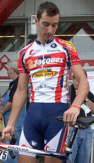 Kenny Dehaes Belgian racing cyclist