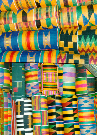 Kente cloth - Akan Kente cloth color variations