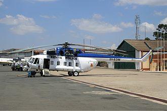 Kenya Police - Kenya Police Mil Mi-17