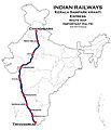 Kerala Samparkkranti Express Route map.jpg
