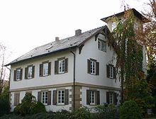 Haus Justinus Kerners in Weinsberg (Quelle: Wikimedia)