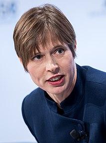 Kersti Kaljulaid 5th president of Estonia