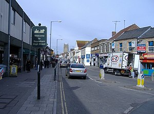 Keynsham - Image: Keyneshamhighstreet