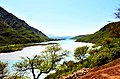 Khanpur Lake seen from Bhamala Stupa site, KPK.jpg