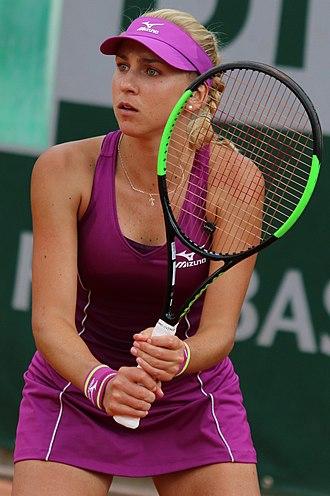 Nadiia Kichenok - Kichenok at the 2018 French Open