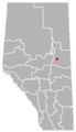 Kikino, Alberta Location.png
