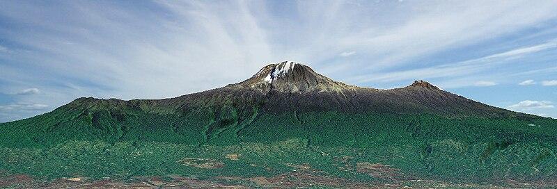 Archivo:Kilimanjaro 3D view.jpg