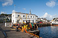 Killybegs Harbour Store Building and Trawler 2012 09 16.jpg