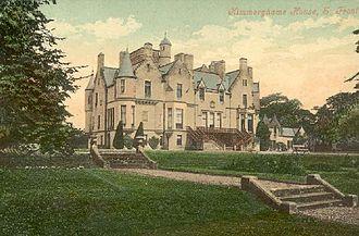 Kimmerghame House - Image: Kimmerghame House Duns