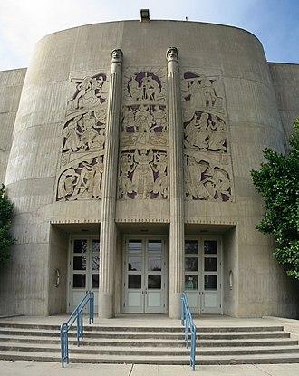 King City, California - The Robert Stanton Theater at King City High School (1939)