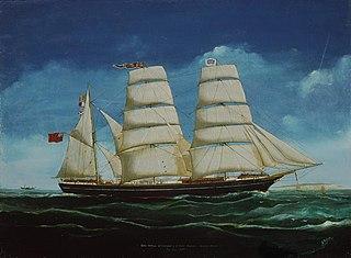'King Arthur' schooner, Liverpool