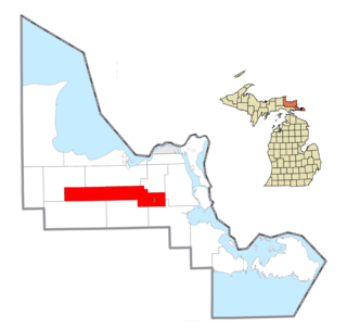 Kinross Charter Township, Michigan Charter township in Michigan, United States