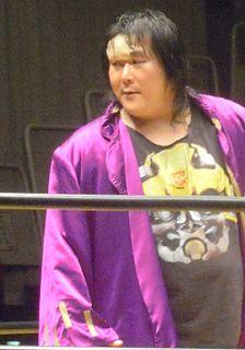 Kouhiro Kanemura Zainichi-Korean professional wrestler