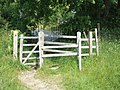 Kissing gate on Templer Way - geograph.org.uk - 1371755.jpg