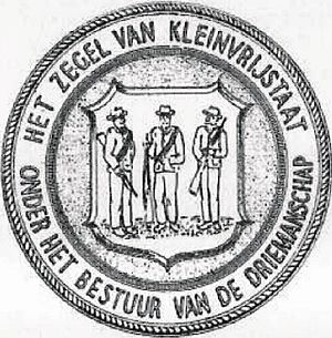 Klein Vrystaat - Image: Klein Vrystaat seal