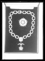 Klenod till kedja, för kommendör med kedja (El Collar) av Al meritoorden, Chile - Livrustkammaren - 78507.tif