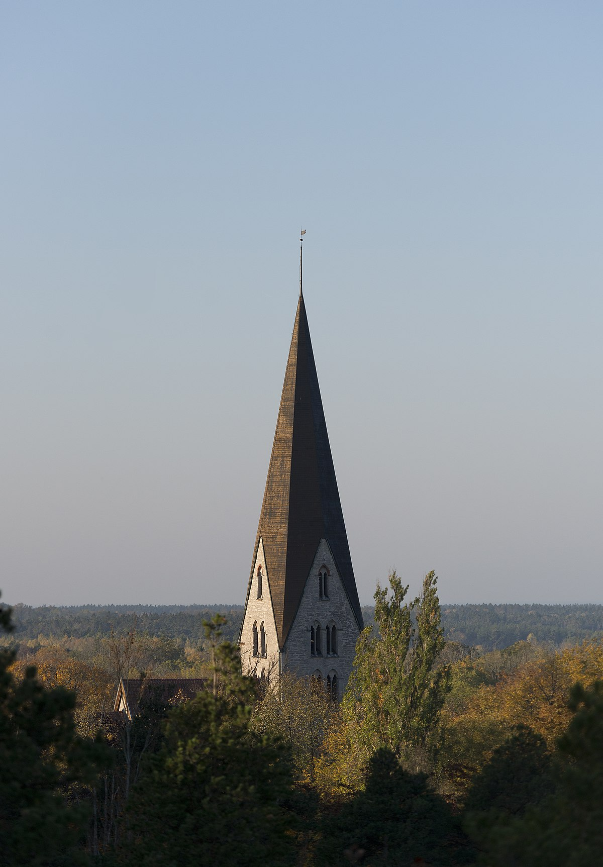 Fil:Klinte kyrka patient-survey.net Wikipedia
