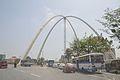 Kolkata Gate Under Construction - Rabindra Tirtha Crossing - Rajarhat 2017-03-30 0851.JPG