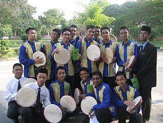 SMS Kuala Selangor - Kompang Team for Hari Kecemerlangan 2006