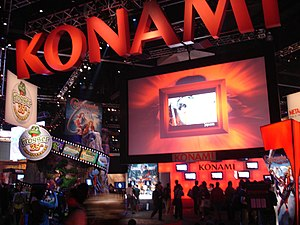 Konami - Konami America booth at E3 2006