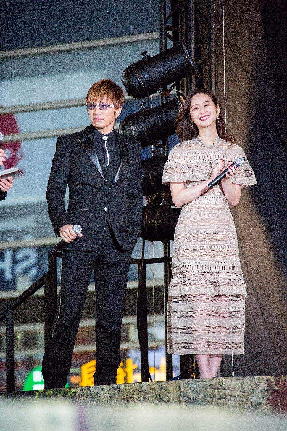 Kong- Skull Island Japan Premiere Red Carpet- GACKT & Sasaki Nozomi (36570746714)