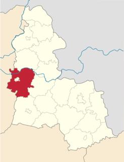 Konotop Raion Subdivision of Sumy Oblast, Ukraine