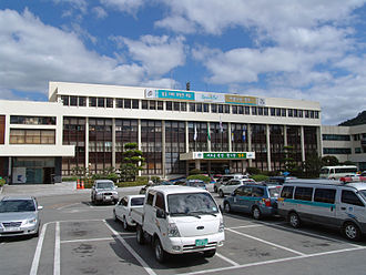 Gyeongju - Gyeongju City Hall in Dongcheon-dong.