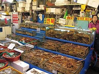 Noryangjin Fisheries Wholesale Market - Image: Korea Seoul Noryangjin Fish Market 05