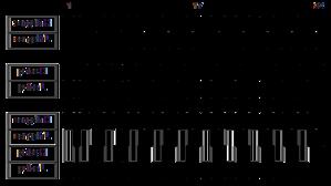 Kotekan - Image: Kotekan empat 32 beat pattern