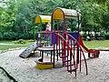 Krakow Kozłówek - slide on a playground for children.JPG