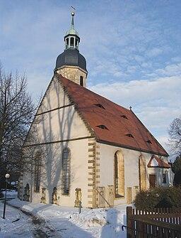 Kreischa, church