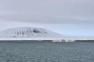 Komsomolets Island - Image: Krenkel Bucht 2 2014 08 31
