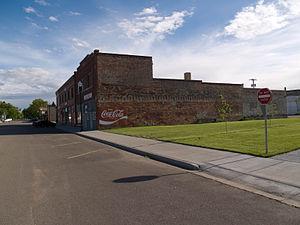 Kulm, North Dakota - Business district in Kulm