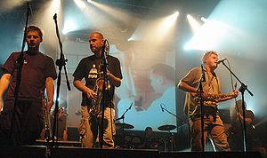 Kult (band) - Kult performing live in Warsaw on November 2, 2005.