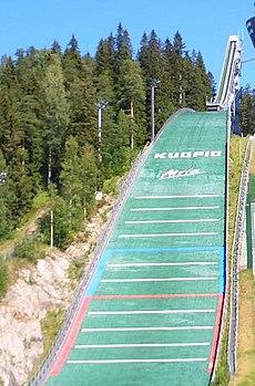 Puijo ski jumping...