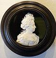 Kurfurstin Sophie Charlotte von Brandenburg, wax model for medal by Raimund Falz, undated, before 1701 - Bode-Museum - DSC02775.JPG