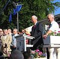 Kurt Beck und Franz Beckenbauer in Alsenborn von Hans Buch.JPG