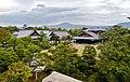 Kyoto Nijo-jo Blick auf den Honmaru-goten-Palast 4.jpg
