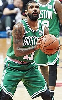 Kyrie Irving American basketball player