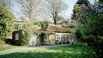 Bratton Fleming railway station - The station building - now a private residence - in 2004