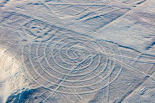 Nazca Small Spiral geoglyph