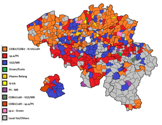 2006 Belgian local elections elections of the Belgian provincial, municipal and district councils