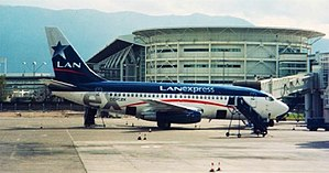 LATAM Express - A Boeing 737-200Adv. formerly operated by the airline.