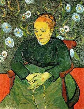 Stedelijk Museum Amsterdam - La Berceuse (1889) by Vincent van Gogh
