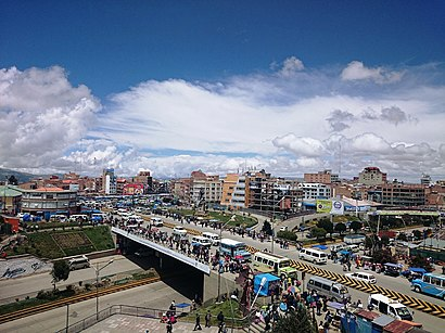 How to get to El Alto with public transit - About the place