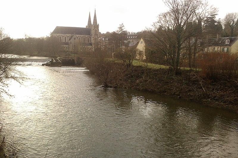 File:La Chapelle-sur-Vire - Vue de la Vire (2).jpg